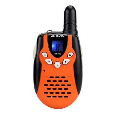2PCS Retevis RT602 Children Radio Intercom Set with Charging Station