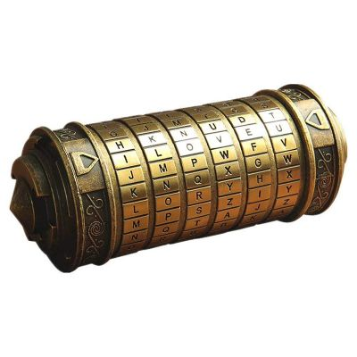 Da Vinci Code Cryptex Combination Lock Romantic Gift
