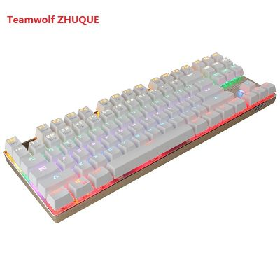 TEAMWOLF ZHUQUE 87 Keys Gaming Mechanical Keyboard