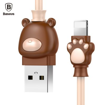 baseus cute bear cable