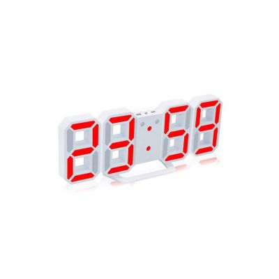 3d led digital alarm clock
