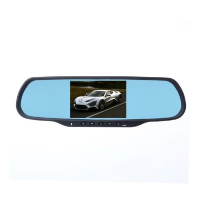 Musk Q8 Bluetooth Hand-free Car DVR GPS Navigation Dual Lens