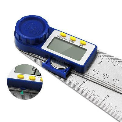 Protractor Ruler Angle Finder Gauge Measuring Instrument