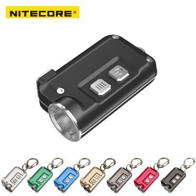 Nitecore TINI Rechargeable LED Keychain Flashlight 380 Lumen