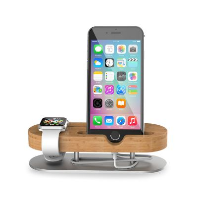 Seenda IPS-Z32  Wooden Charging Stand for Cellphone Smart Watch