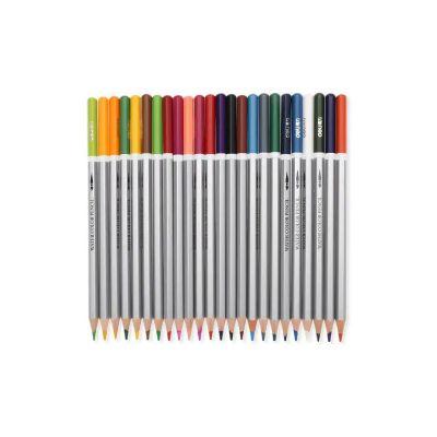 2019 deli 24pcs water soluble color pencil