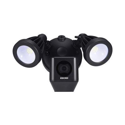escam qf608 led floodlight wifi ip camera