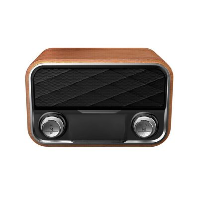 i10 portable retro bluetooth speaker