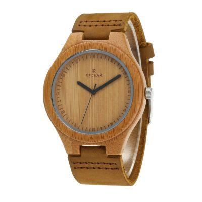 Redear SJ1448-1 Wooden Quartz Watch-Men