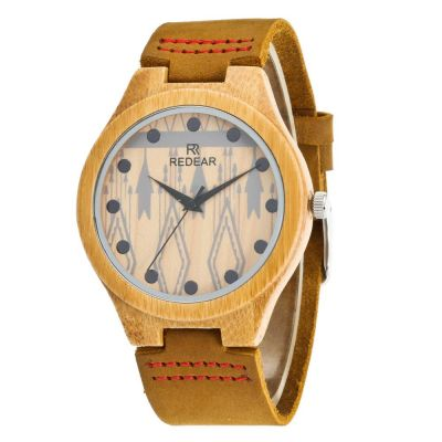 Redear SJ1448-5 Wooden Quartz Watch Male