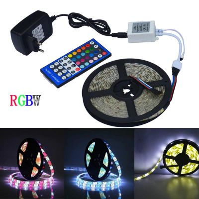 jiawen 5m 5050 rgbw light strip set