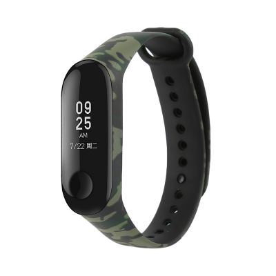 xiaomi mi band 3 camouflage replacement watchband