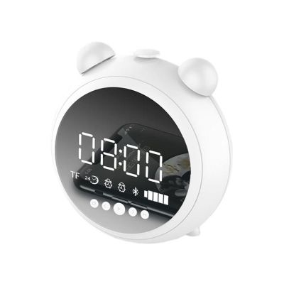 jkr-8100 clock bluetooth speaker