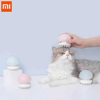 buy xiaomi furrytail jellyfish pet massager comb