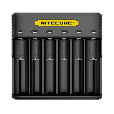 nitecore q6 6-slot battery charger