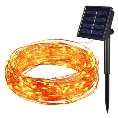 solar panel string light
