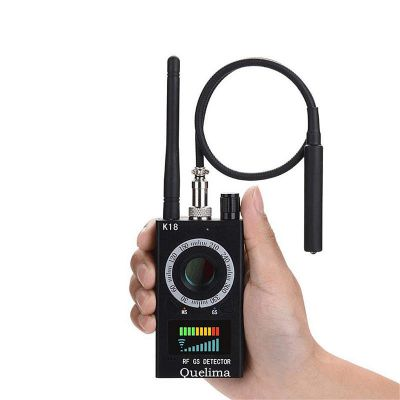 quelima k18 wireless car signal gps jammer detector
