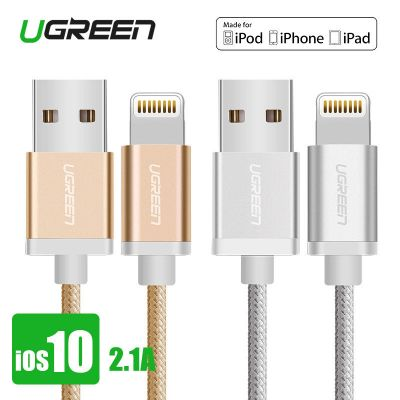 Ugreen US199 Fast Charging MFI Nylon USB Data Cable