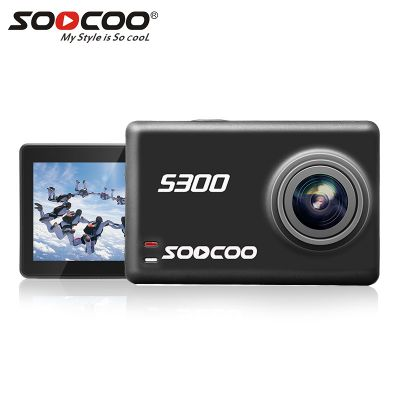 SOOCOO S300 4K 30FPS Action Camera Hi3559V100 + IMX377 Sensor with External Mic