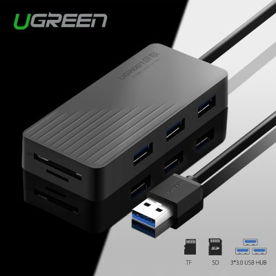 Ugreen CR132 All in One USB HUB with TF SD Card Reader
