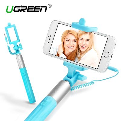 Ugreen LP109 Universal Wired Extendable Monopod Selfie Stick