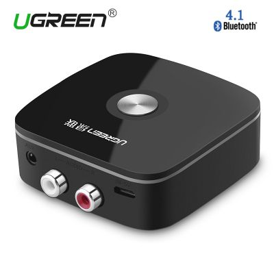 Ugreen 30445 Wireless Bluetooth Car Receiver Audio Adapter Speakerphone