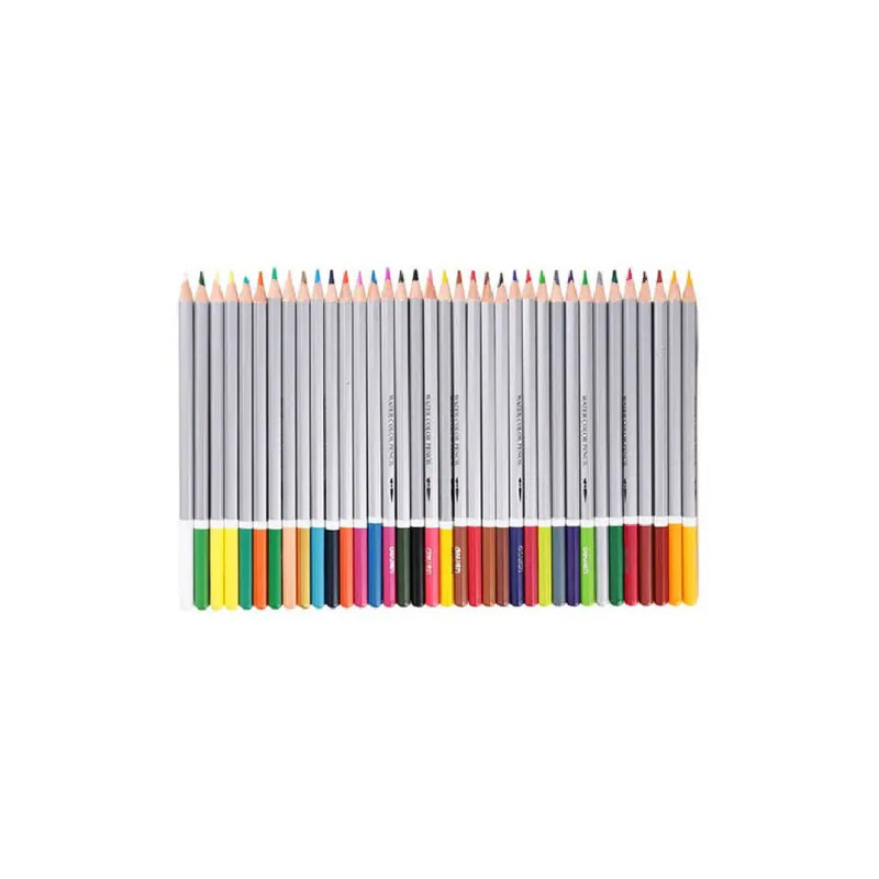 DELI 36PCS Assorted Water Soluble Color Pencil Lead Drawing Stationery