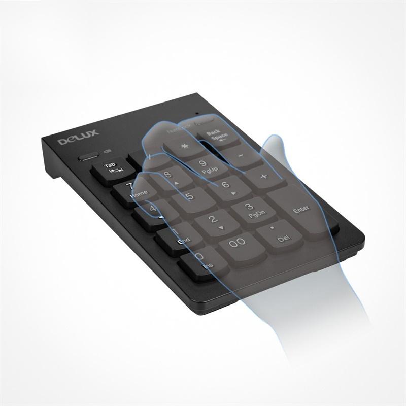 Delux K300G Wireless Numeric Keyboard фото