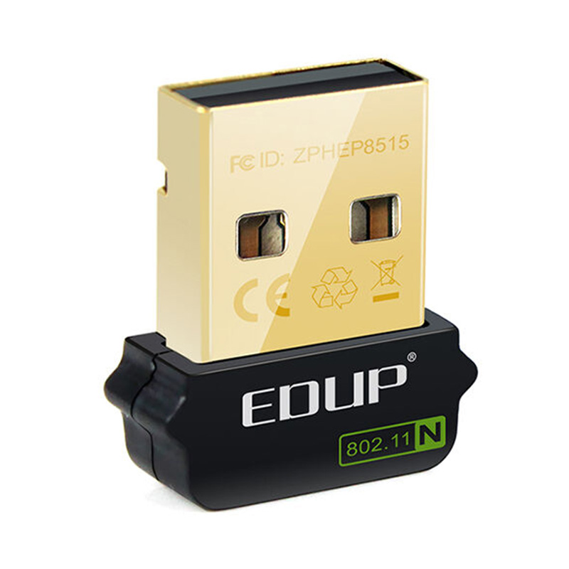 EDUP EP-N8508GS USB Mini Network Adapter 150Mbps Wireless LAN Card Portable WiFi Receiver