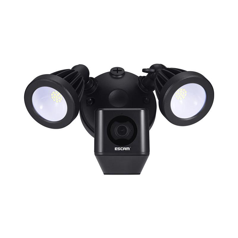 ESCAM QF608 1080P LED Floodlight WiFi IP Camera PIR Detection фото