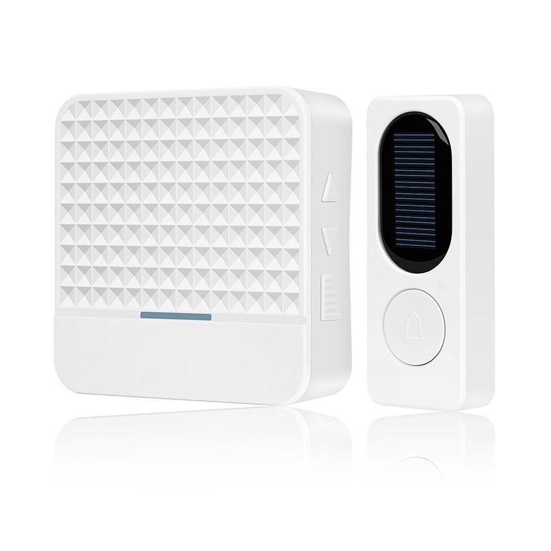 FK-D009 433Mhz Wireless Solar Doorbell Waterproof with 2LED Night Light фото