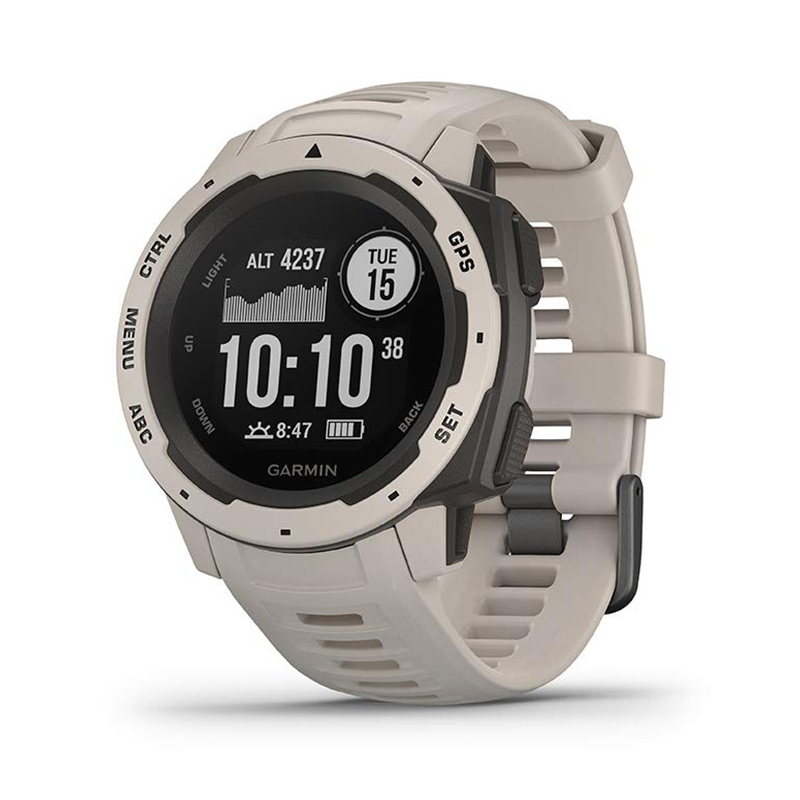 Garmin Instinct Graphite Smartwatch Heart Rate Monitor 3-axis Compass фото