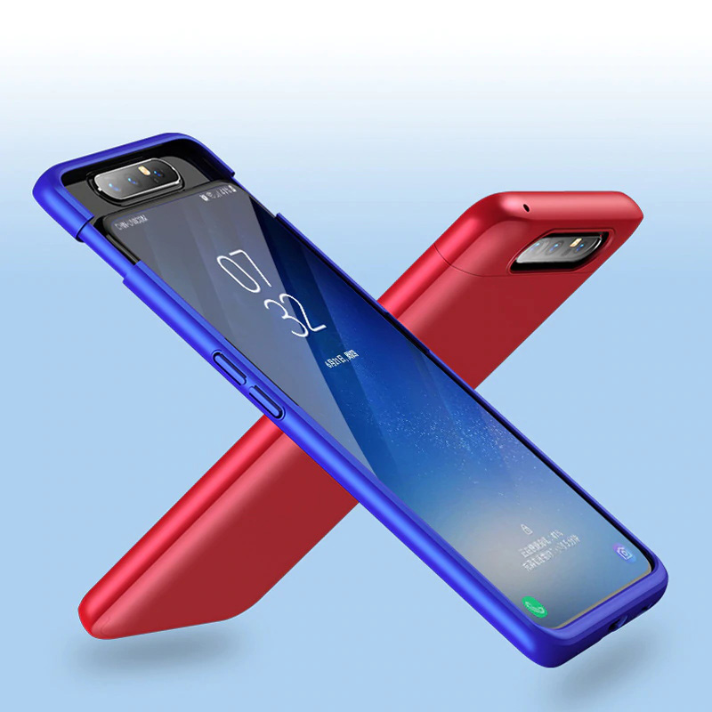 GKK Samsung Galaxy A80 Case Slide Cover Full Protective Shockproof Phone Shell фото