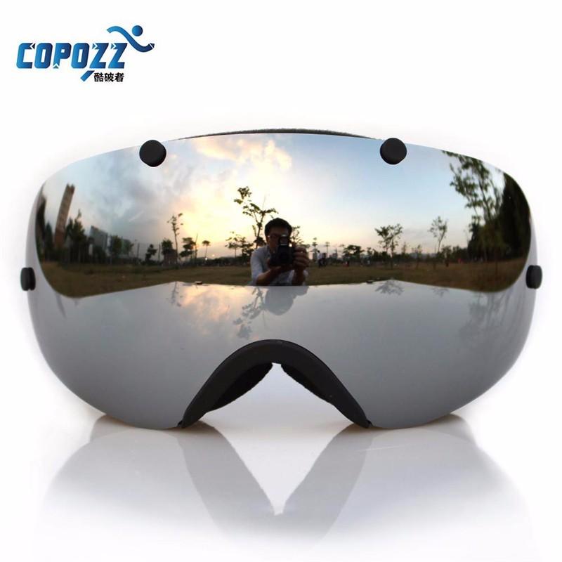 COPOZZ Anti-fog Polarized Goggles Professional Unisex Multicolor Snow фото