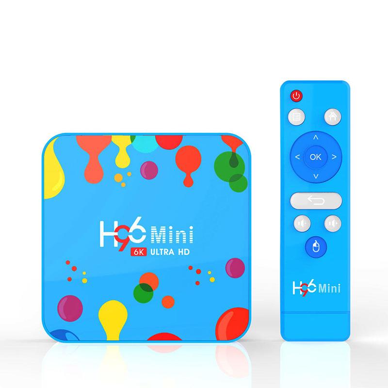 H96 Mini H6 TV Box Allwinner H6 4GB RAM 128GB ROM 5G WIFI