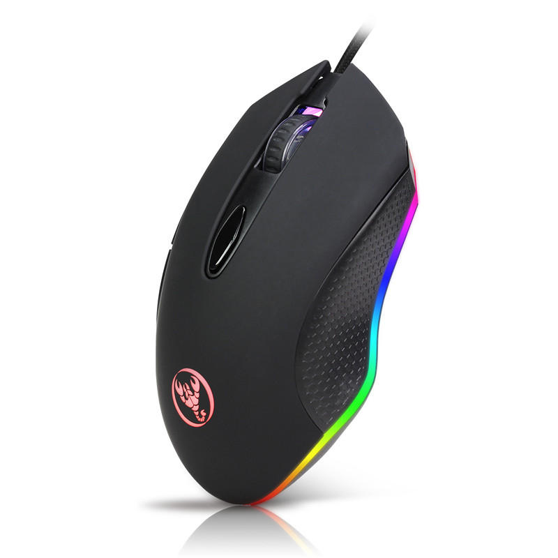 HXSJ S500 Wired RGB Backlit Gaming Mouse фото