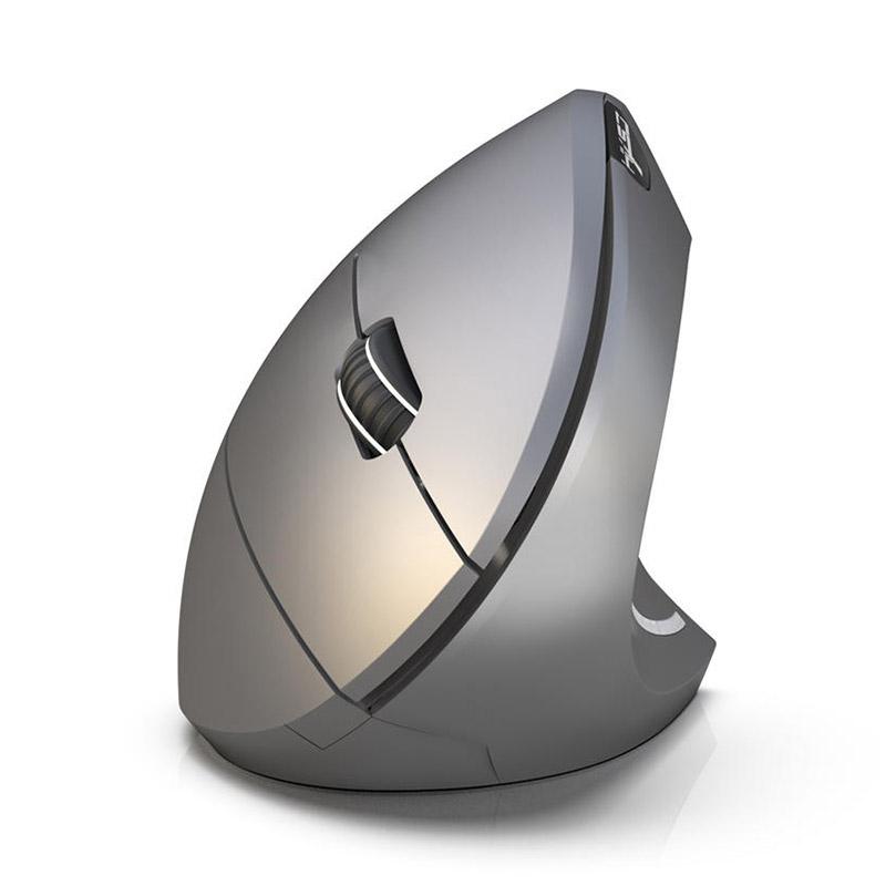 HXSJ T29 Wireless Bluetooth Vertical Gaming Mouse 2.4GHz 2400DPI Ergonomic Design