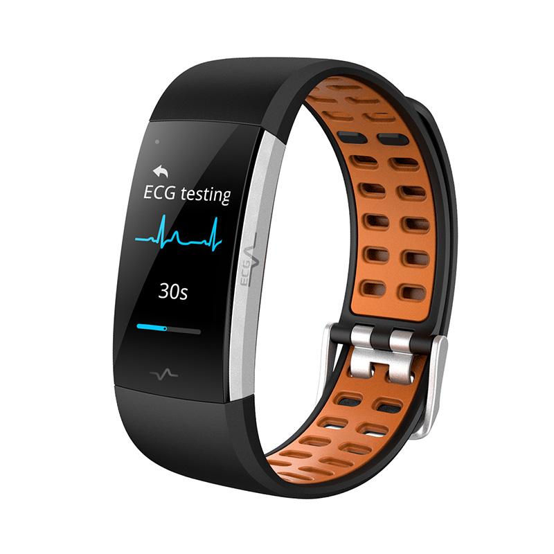 I7E ECG Smart Wristband Fitness Tracker IP68 Waterproof фото