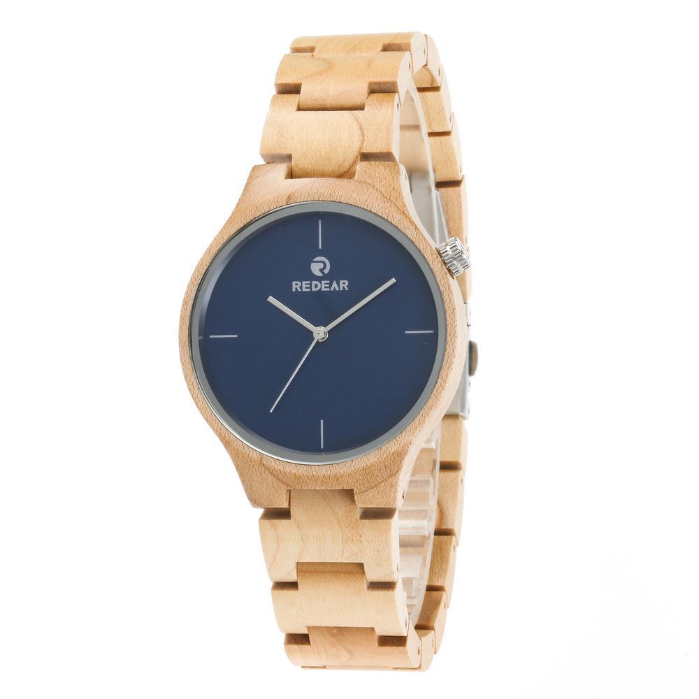 Redear SJ1603-2 Wooden Quartz Watch-Male фото
