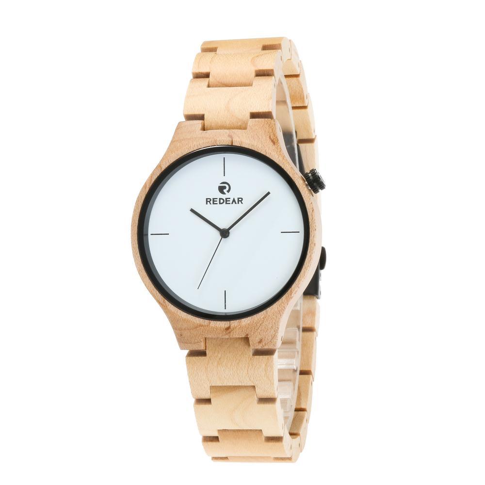 Redear SJ1603-1 Wooden Quartz Watch-Male фото