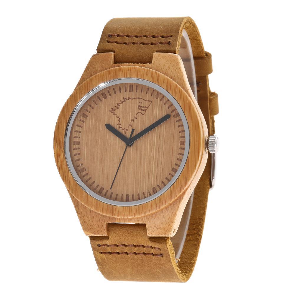 Redear SJ1448-3 Wooden Quartz Watch-Male Brown фото