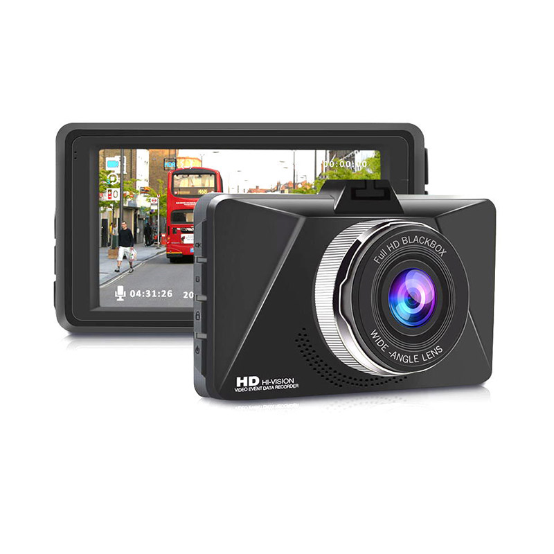 Junsun Q6 Car DVR Camera 3 Inch Full HD 1080P WDR Looping Recording G Sensor Auto Sleep Parking Monitor 140 Degree фото
