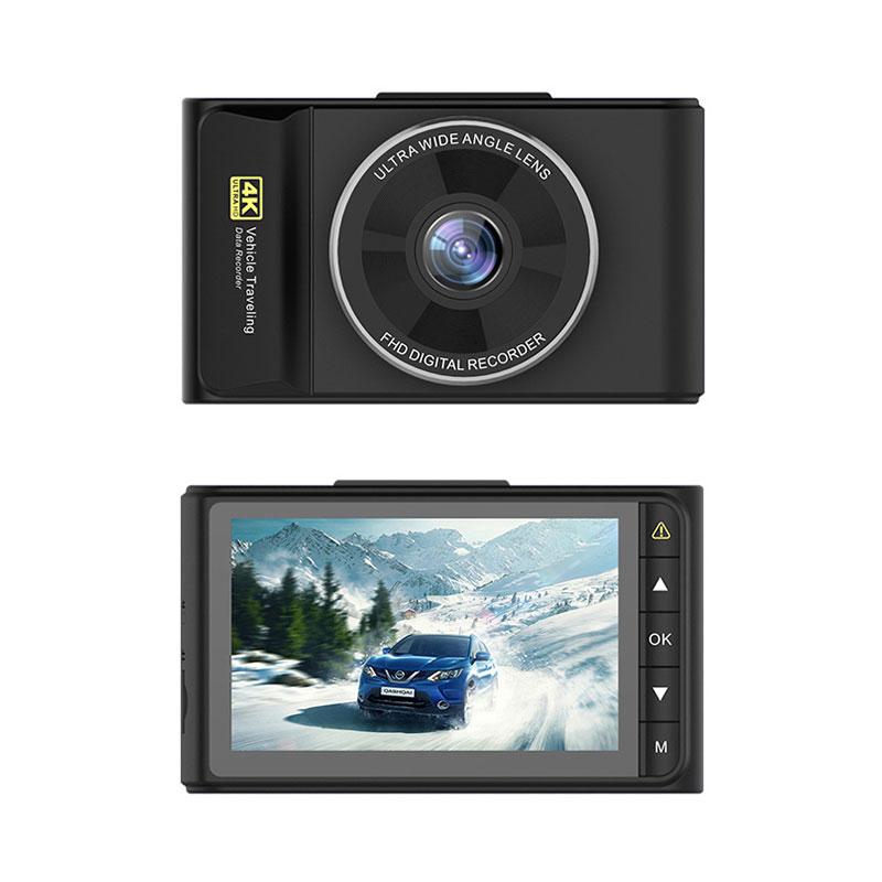 Junsun Q8 Car DVR Camera 4K Ultra 2160P GPS Tracker Super Night Vision Dash Cam