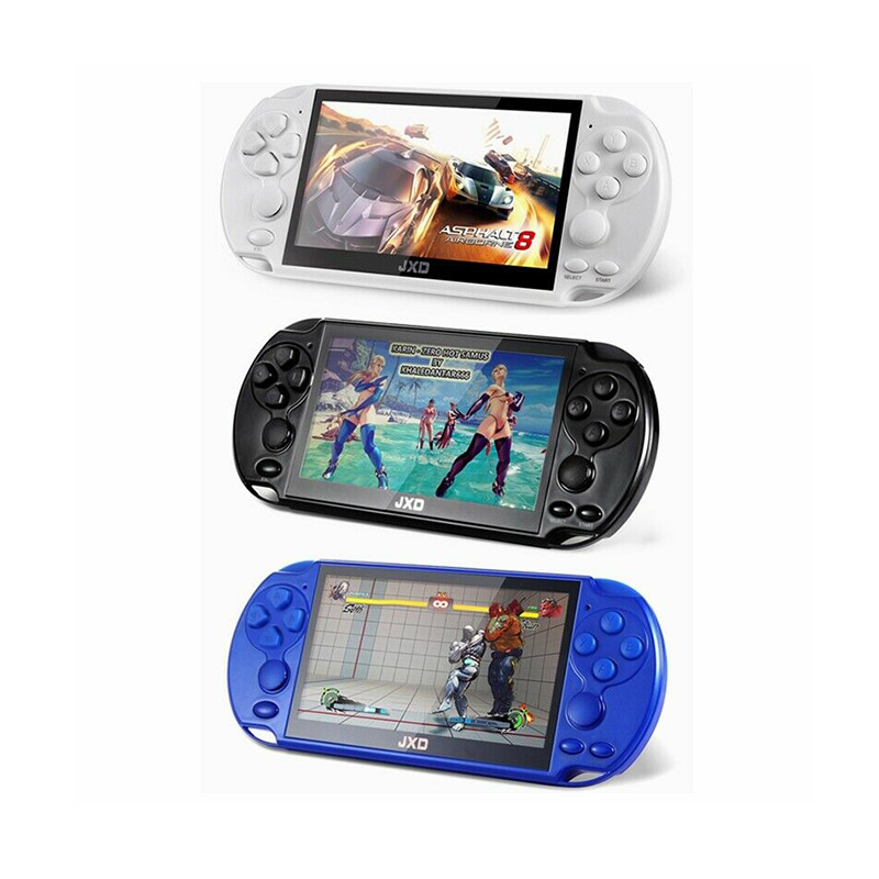 JXD Retro Video Handheld Game Console 16GB 5.1 Inch Built-in 3000 Games