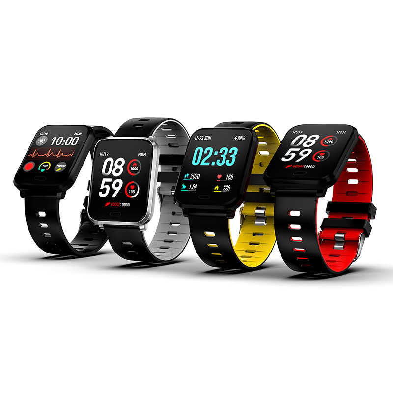 K10 Smartwatch 1.3inch Two Colored Detachable Strap фото