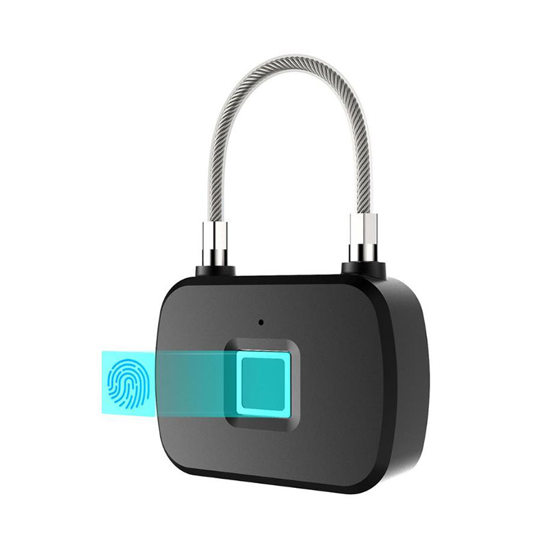 L13 Smart Keyless Fingerprint Lock IP65 Waterproof Inteligent Anti-Theft Security Padlock