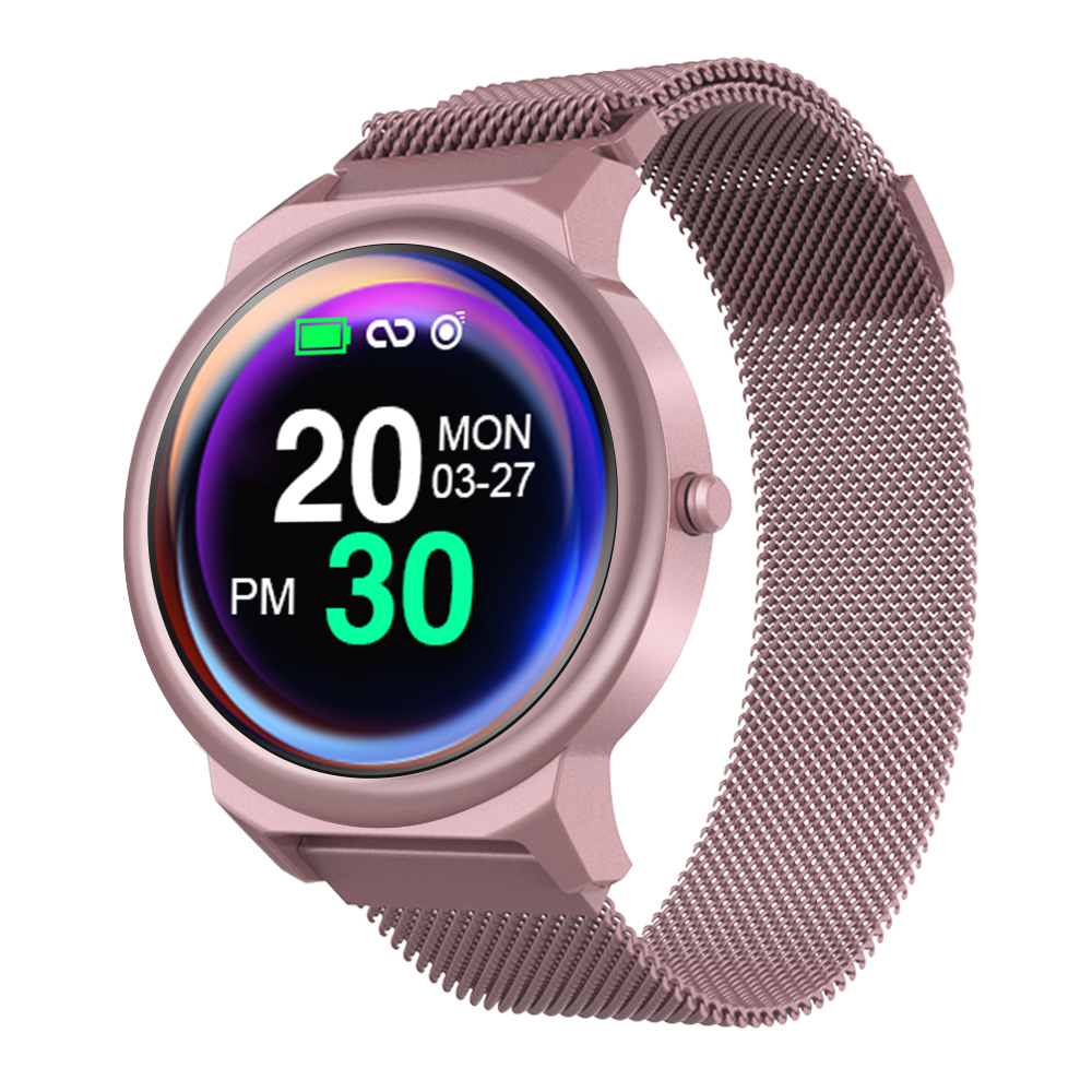 LEMFO ELF1 Smartwatch 1.3 Inch Full Touch Screen Heart Rate Blood Pressure