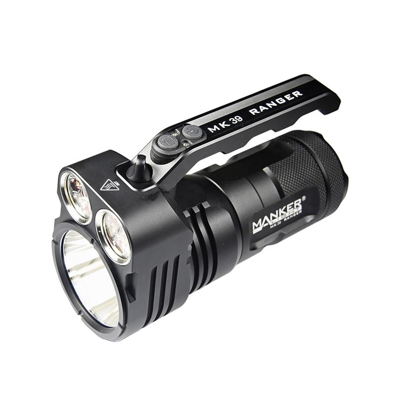 Manker MK39 Ranger LED Flashlight 6000 Lumens