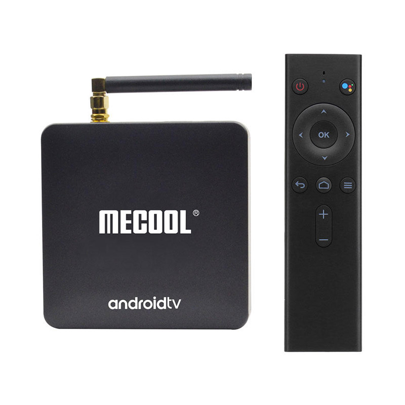MECOOL KM8 TV Box 2GB RAM 16GB ROM Voice Remote Google Certified фото