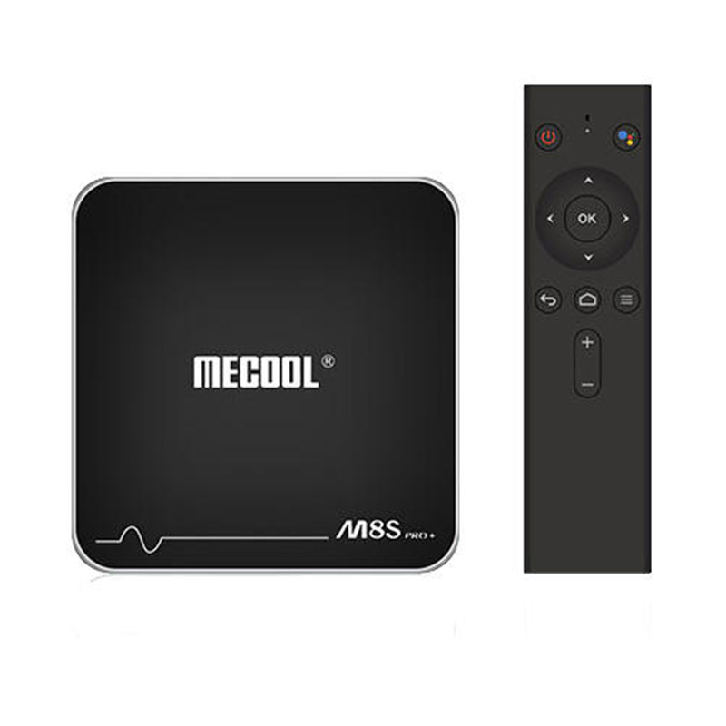 MECOOL M8S PRO+ TV Box 2GB RAM 16GB ROM Amlogic S905W Voice Remote Control фото